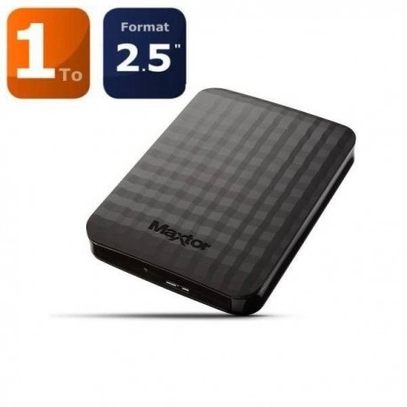 "DISQUE DUR EXTERNE MAXTOR M3 Portable 1To 2.5"" USB3.0"