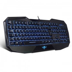 CLAVIER SPIRIT OF GAMER ELITE-K9 FILAIRE USB RETRO ECLAIRAGE V/R/B
