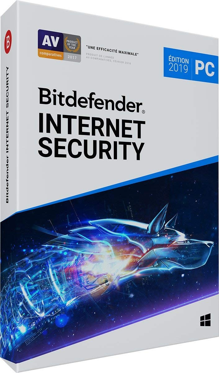 Bitdefender Internet Security 2019 OEM 1an/1PC
